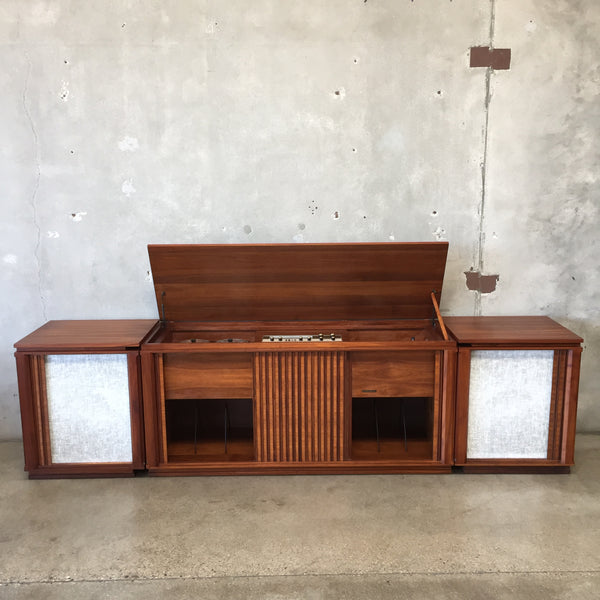 Mid Century Stereo Console