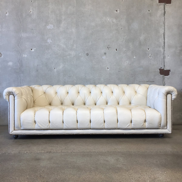 Vintage Chesterfield Style Sofa by Flexsteel