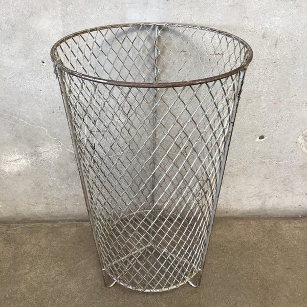 Industrial Wire Trash Can