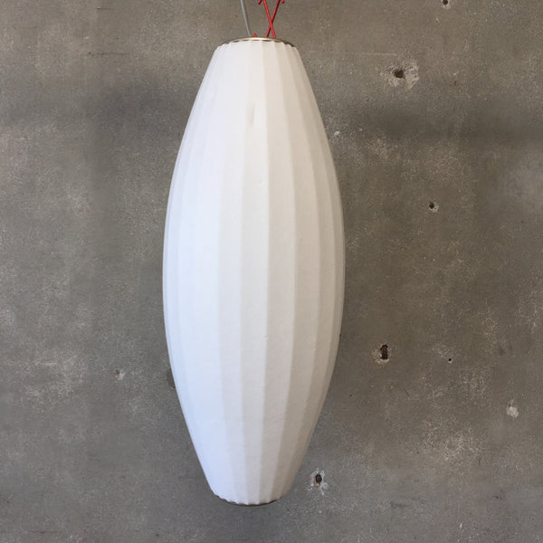 Mid Century Style George Nelson Cigar Hanging Lamp