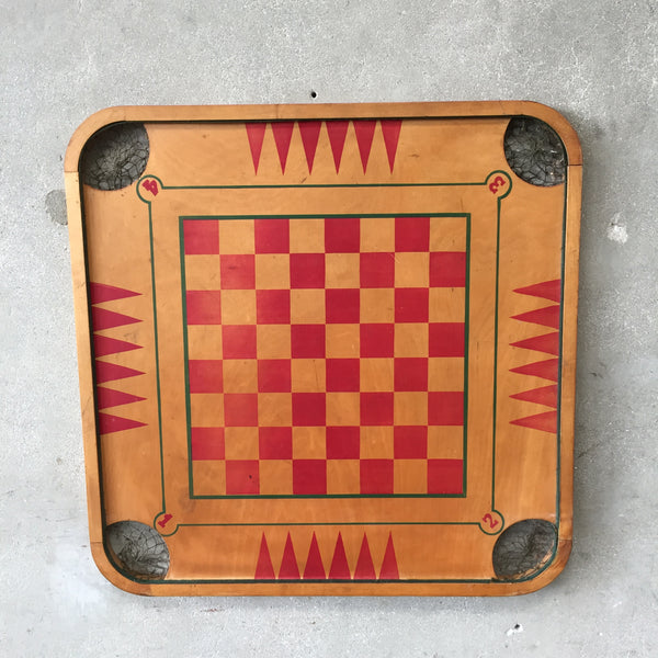 Old Vintage Game Board