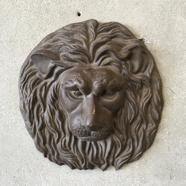 Iron Wall Mount Lion
