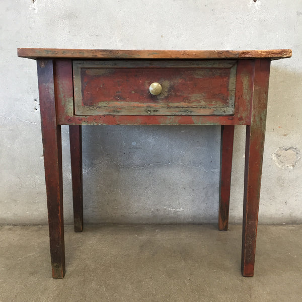 Vintage One Drawer Table