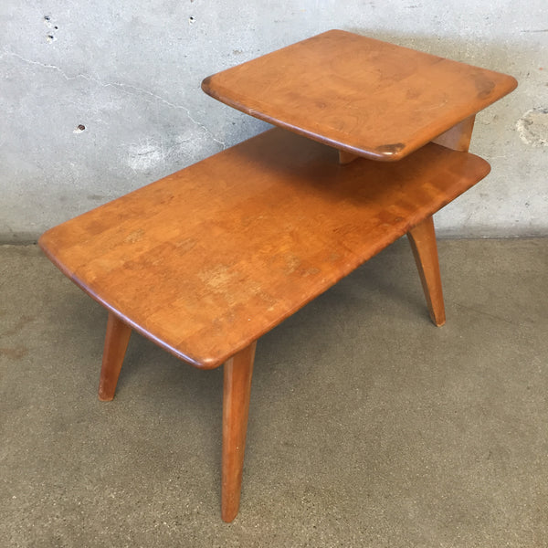 Heywood Wakefield Two Tier End Table (Model M 304 G)