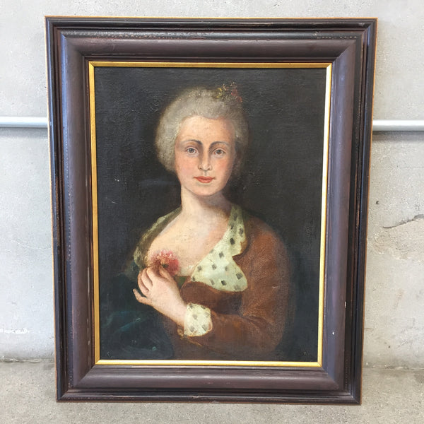 Vintage English Women Painting