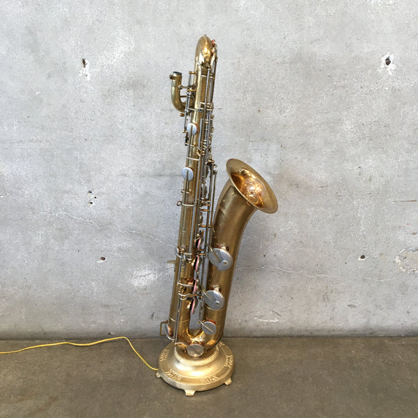 Large Saxophone Custom Lamp