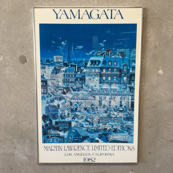 1982 YAMAGATA Print by Martin Lawrence Gallery Los Angeles