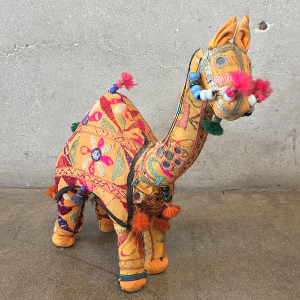 Vintage Rajasthani Hand Woven Camel