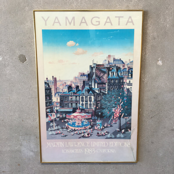 1983 YAMAGATA Print by Martin Lawrence Gallery Los Angeles