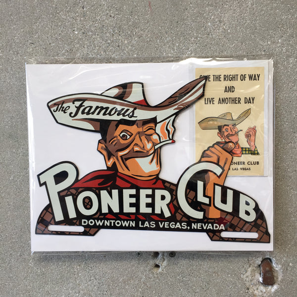 Las Vegas Pioneer Club Topper and Decal