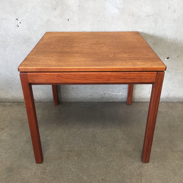 Vintage Mid Century Side Table by Jens Risom