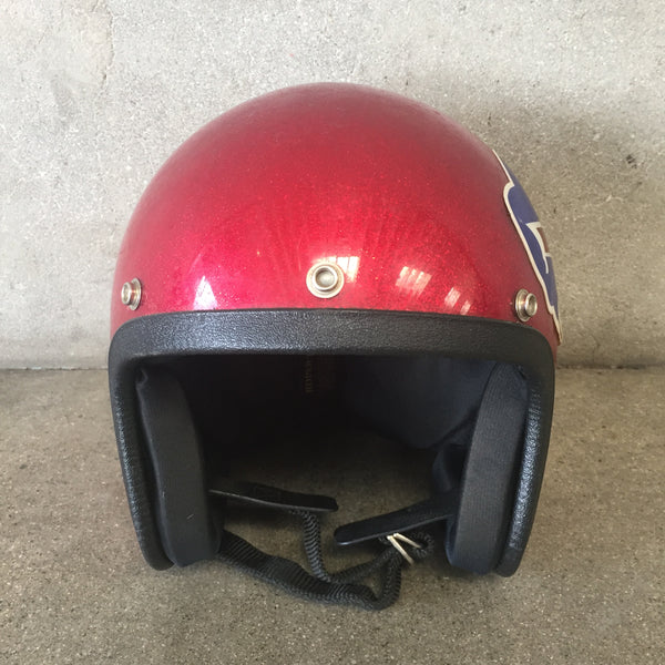 Vintage Buffalo Bills Motorcycle Helmet
