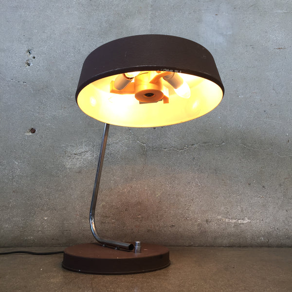 Mid Century Push Button Desk Lamp