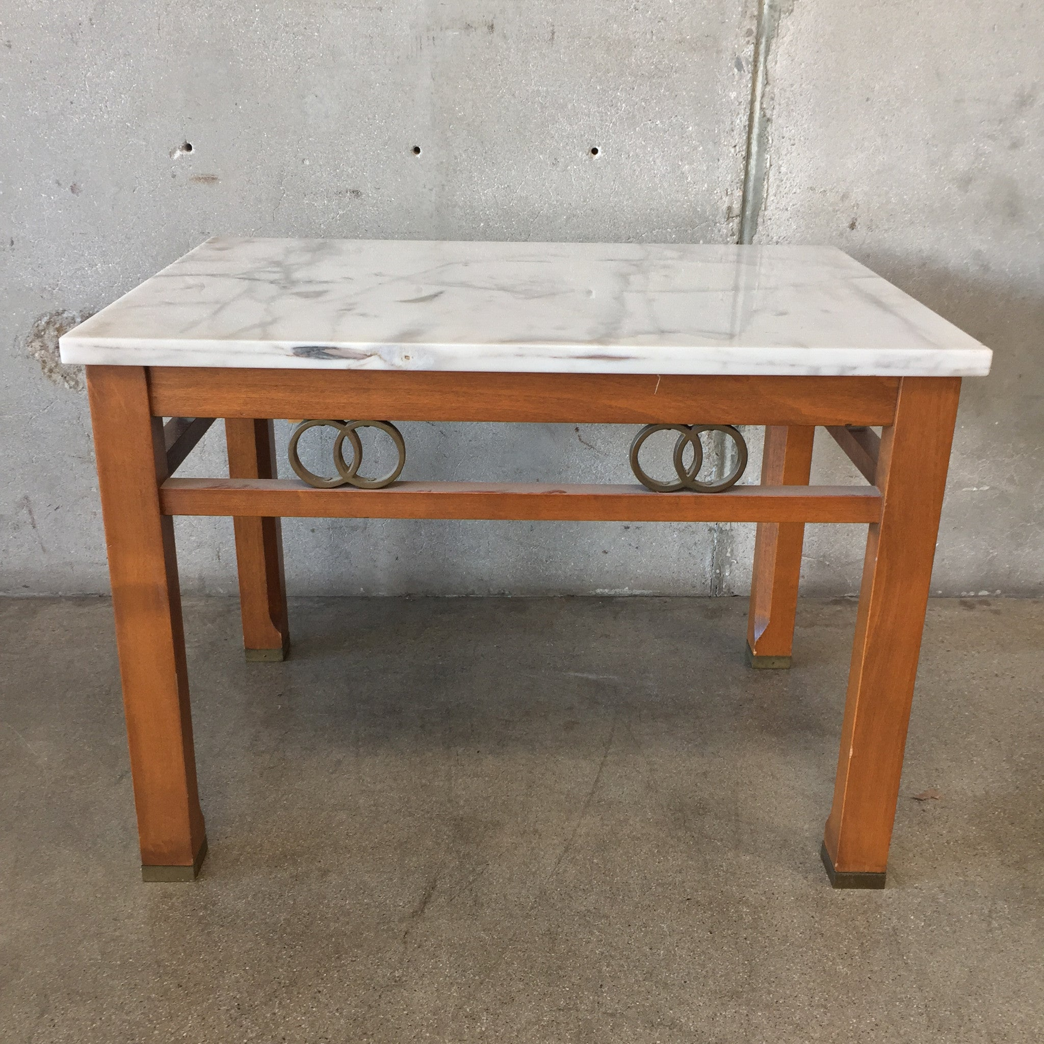 Italian Marble Table By Cal Marble Furniture Co.