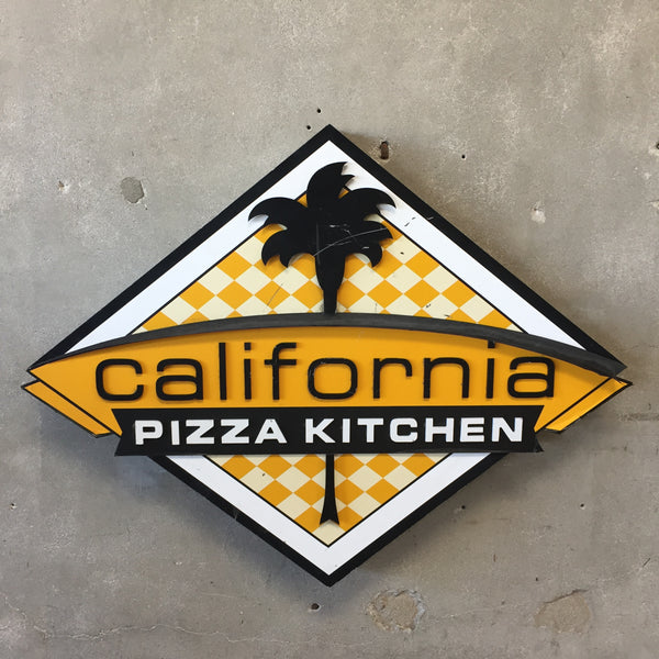 California Pizza Kitchen Sign