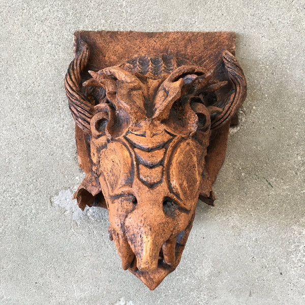 Ceramic Dragon Head