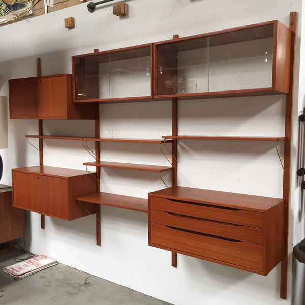 Mid Century Wall Unit by Bruksbo of Norway