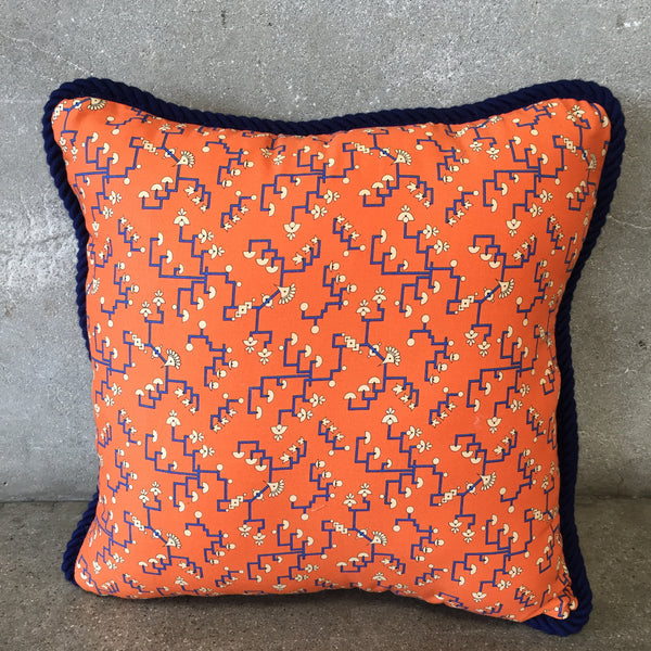 Art Deco Fabric Pillow