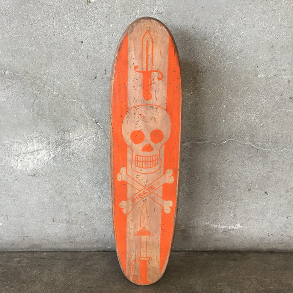 Vintage Rare Nash Pirate Skateboard