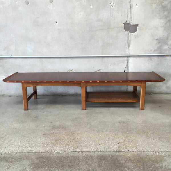 Mid Century Map Coffee Table