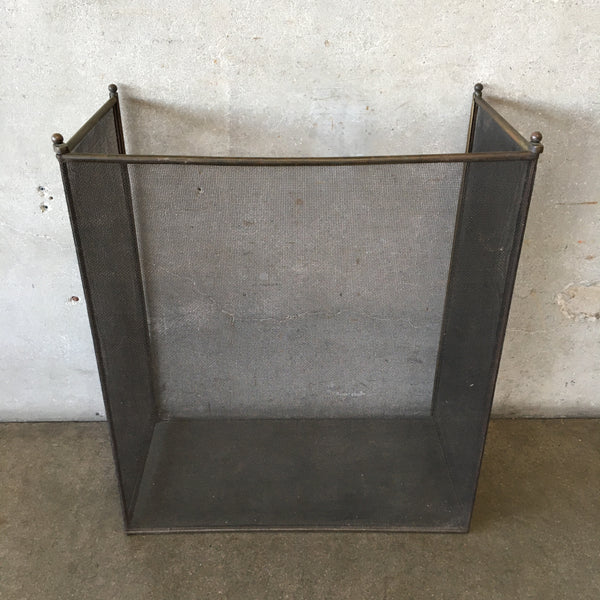 Mid Century Modern Fire Place Screen