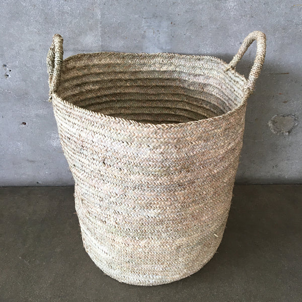 Large Rafia Basket