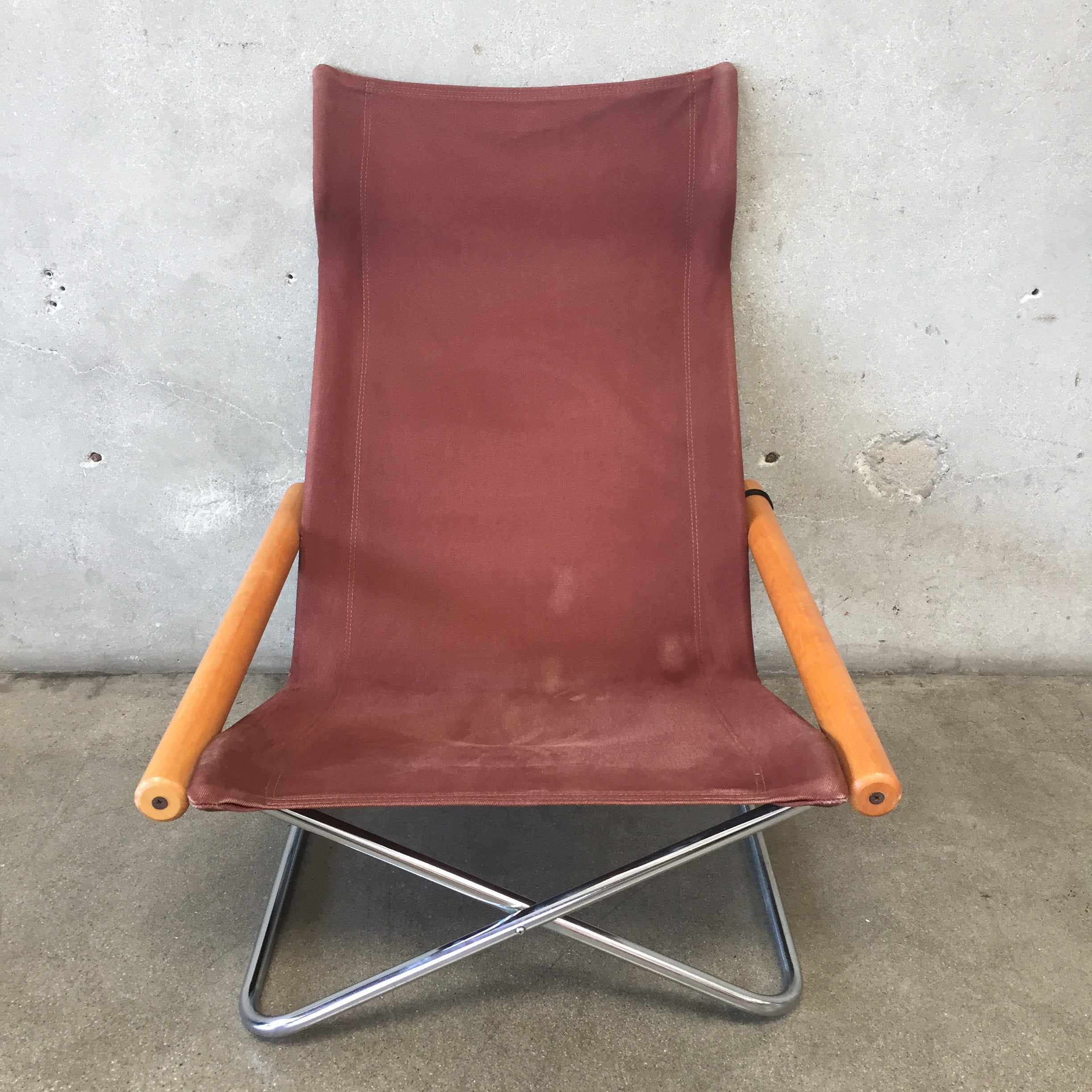 Vintage Japanese Folding Chair by Takeshi Nii – UrbanAmericana
