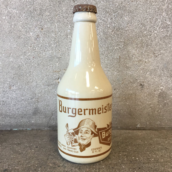 Burgermeister Beer Bottle