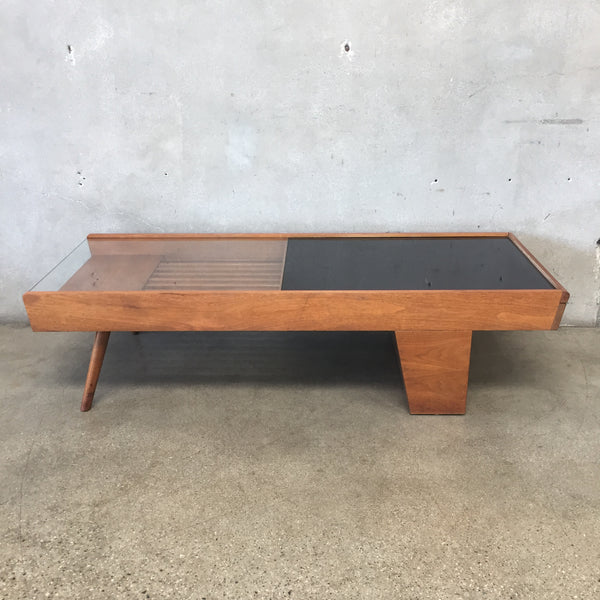 Vintage Mid Century Coffee Table by John Keal for Brown Saltman