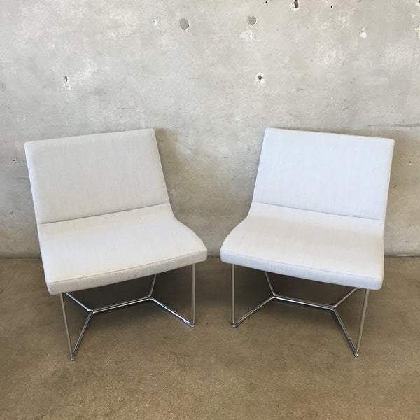 Mid Century Style Harter Forum Lounge Chairs by Izzy