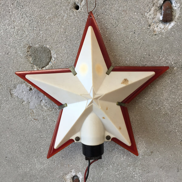 Vintage Tree Top Star Light