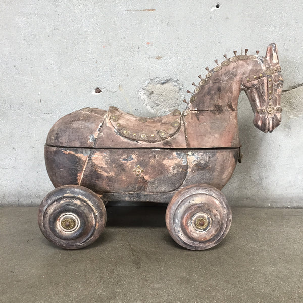 Vintage Spice Horse Caddy