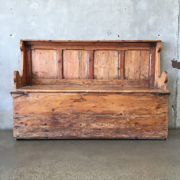 Antique Kitchen Bench