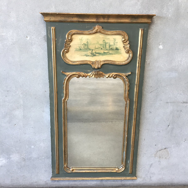 Italian Hand Painted Mirror