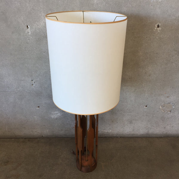 Mid Century Modern 1960's Table Lamp