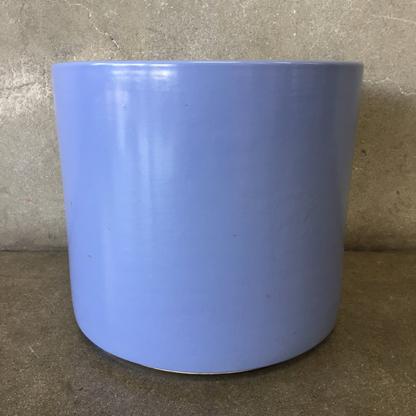Mid Century Light Blue Garden Pot