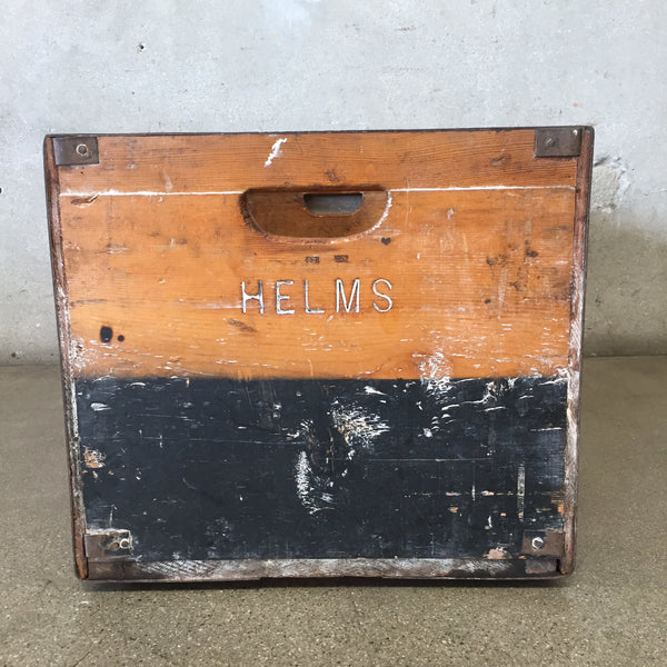 Helms Bakery Wood Crate