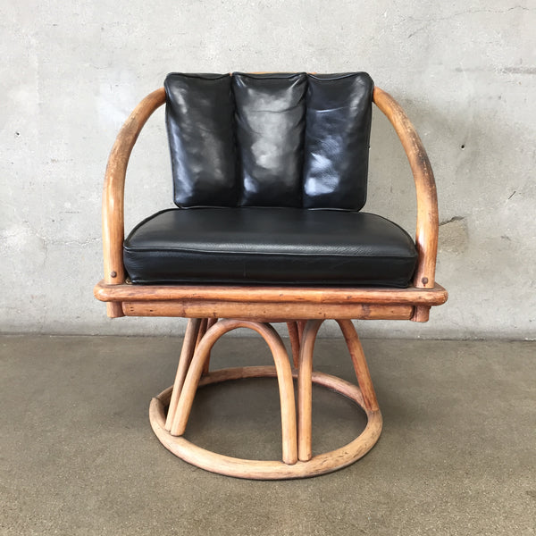 Copy of Mid Century Bamboo Club Chair