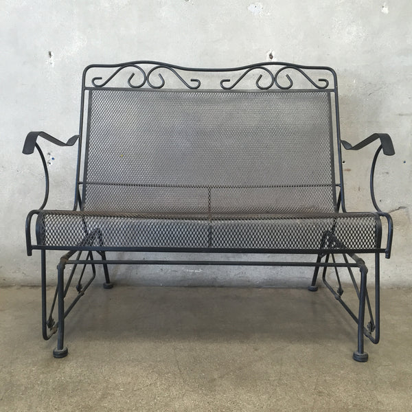 Glider Patio Bench