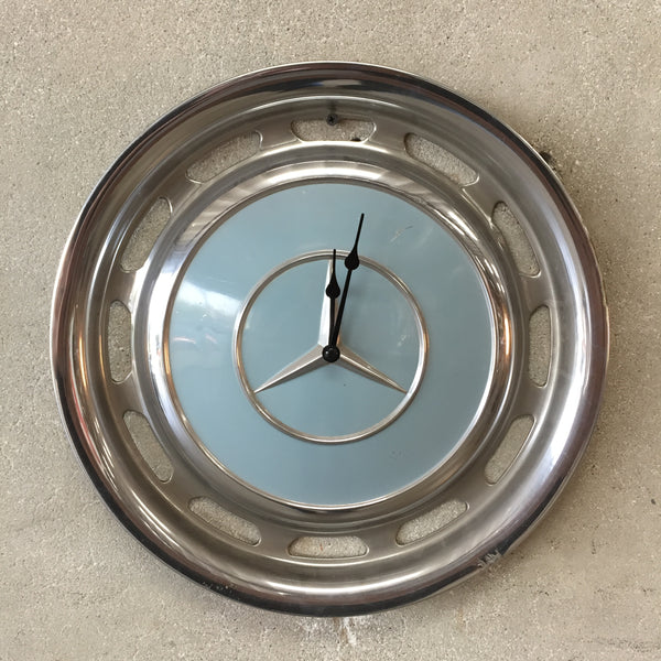 Mercedes Benz Hubcap Clock