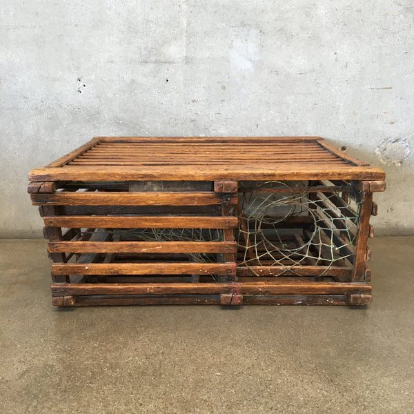 Old Wood Lobster Trap
