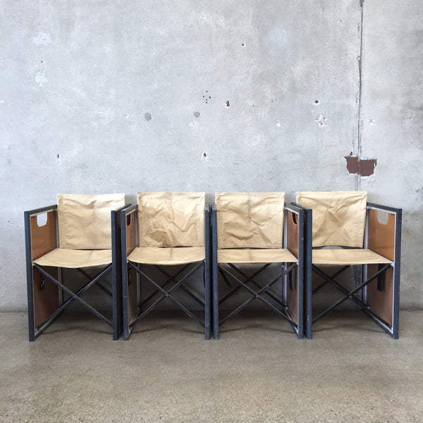 Set of Four Vintage Rolls Royce Picnic Chairs