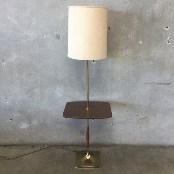 Mid Century Table Floor Lamp by Laurel