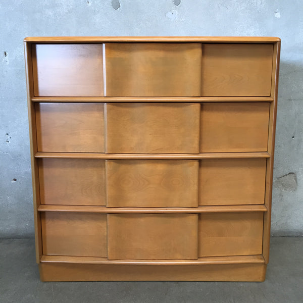 Mid Century Heywood Wakefield Four Drawer Chest