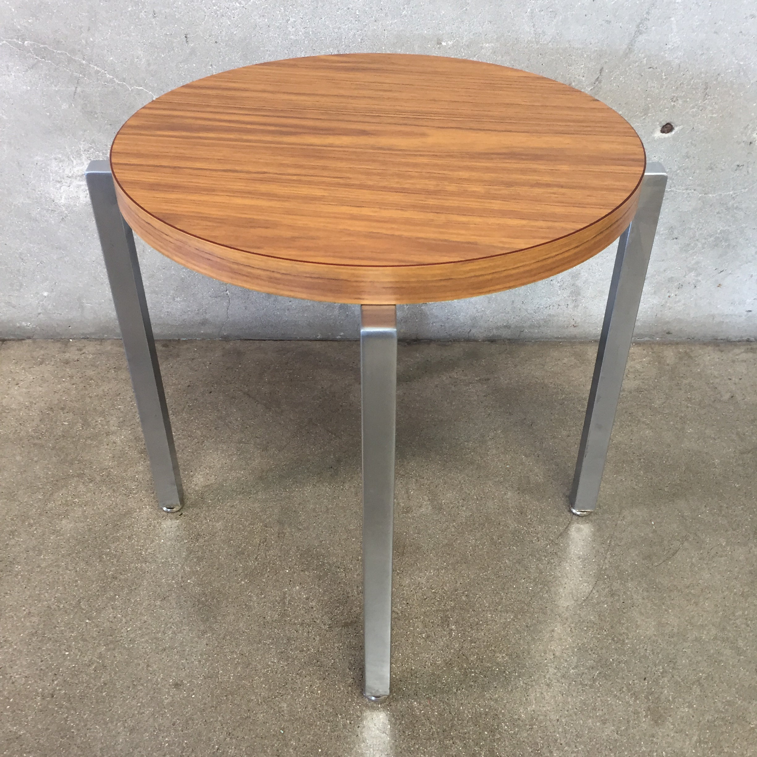 vintage mid century modern side table