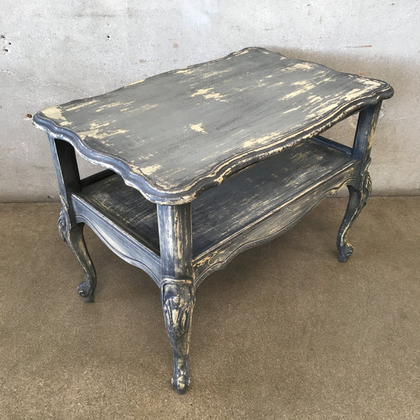 Vintage Chippy Style End Table