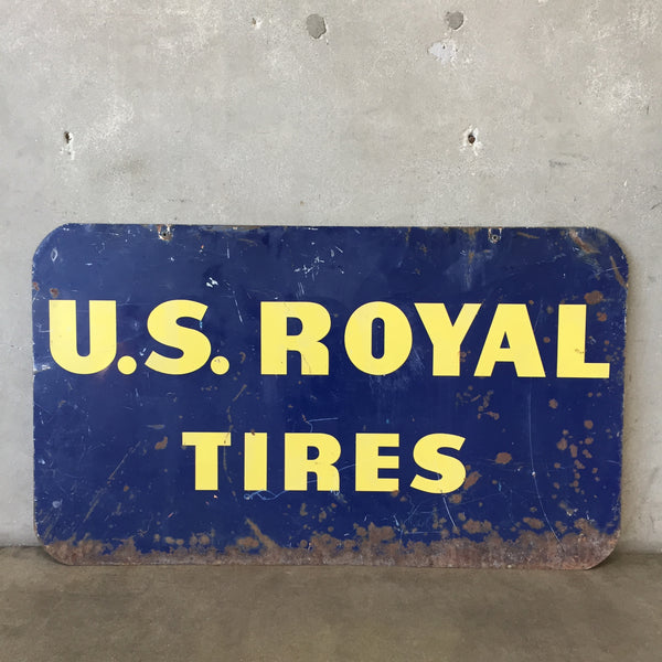 U.S. Royal Tires Tin Sign