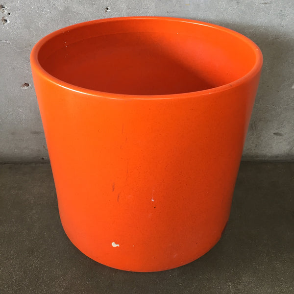 Large Gainey Ceramics Pot Orange