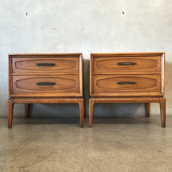 Vintage Mid Century Night Stands by Bassett