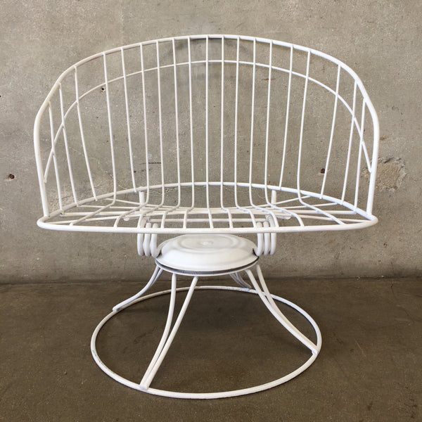 Vintage Homecrest Low Back Out Door Chair
